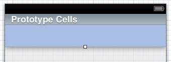 Adding a table view cell