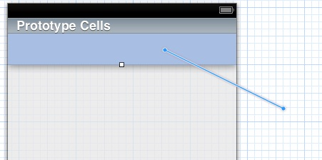control click from prototype cell