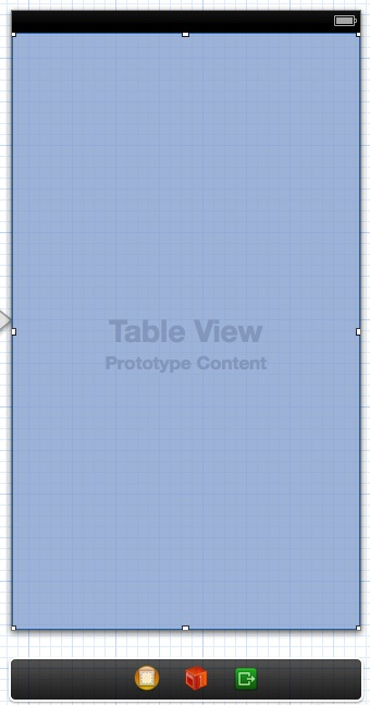 Table View in the UI
